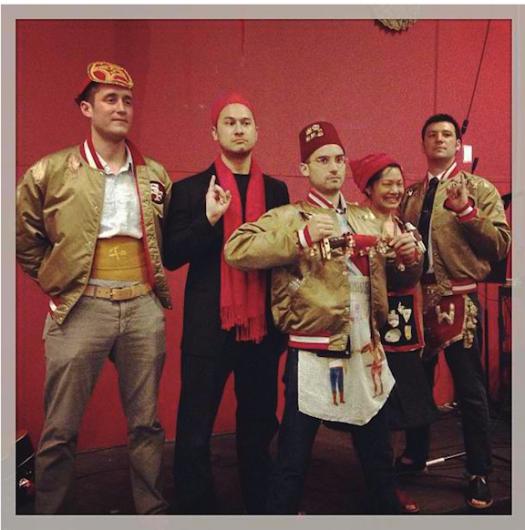 From Left to Right:  Niner Pav, Niner 3X, Niner Percy, Niner Yee, Niner Dzel
